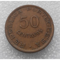 50 сентаво 1973. Мозамбик-колония Португалии #01