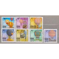 Держали авиация Гвинея-Бисау 1983г полная серия из 7 марок ( ли)
