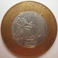 Жетон (пробное евро) из набора монет Чехии 2004 г. (a)