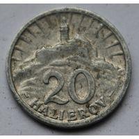 Словакия, 20 геллеров 1942 г.