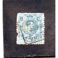 Испания.Ми-236. Медальон - король Альфонсо XIII, повернутый в правую сторону. 1910.