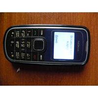 Мобильный телефон б.у. Nokia 1202-2 Монохромный дисплей.