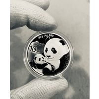 Монета ПАНДА Китая 2019, Серебро, 30g
