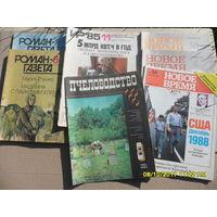 Журналы - 7 штук СССР