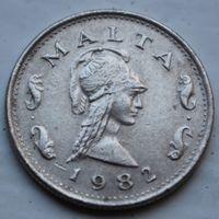Мальта, 2 цента 1982 г
