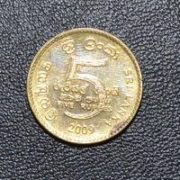 Шри-Ланка 5 рупий 2009