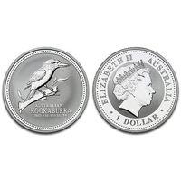 Австралия 1 доллар, 2003 год. Кукабара