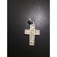 Крест , вес 6.07 гр.