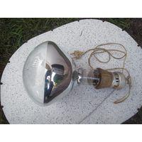 Лампа инфракрасная СССР с патроном. 62д