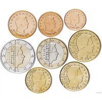 Набор монет Люксембург 2009 UNC из ролла
