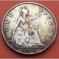 120-03 Великобритания, 1 пенни 1935 г.