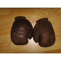 Перчатки боксерские СССР . Конский волос