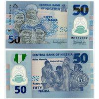 Нигерия. 50 найра (образца 2011 года, P40c, UNC)