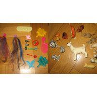 Мелочи для куклы типа Барби и животные