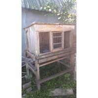 Клетка #2 для разведения кроликов без маточника, средняя, самовывоз с дачного кооператива возле Жодино