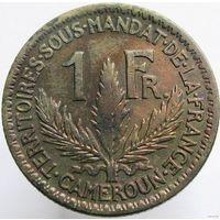 Камерун 1 франк 1925
