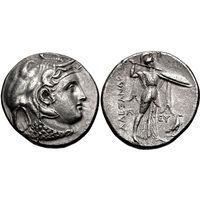 Тетрадрахма Птолемея I как сатрапа