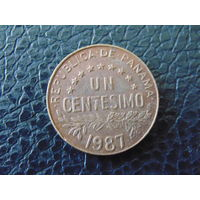 Панама  1 сентесимо 1987 г.