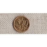 ЮАР 10 центов 2010/флора/(Uss)