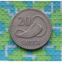 Фиджи 20 центов 1987 года. Инвестируй в коллекционирование!!!