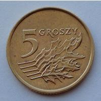 Польша 5 грошей. 1992