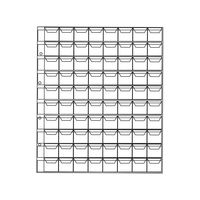 Лист  для монет на 80 ячеек, 22*17 мм