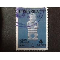 Коста-Рика 1984 археология, экспонат музея