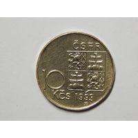 Чехословакия 10 крон 1993г