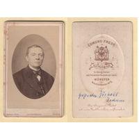 Кабинет-фото / Портрет мужчины / Edmund Frede, Munster