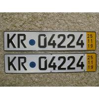 Автомобильный номер Германия KR04224