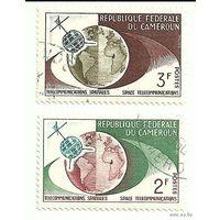 Спутники. Камерун. 1970