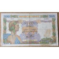 500 франков 1942г