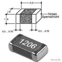 Конденсатор 1206 0,022 мкФ NPO 50 MUR 5% 85 штук