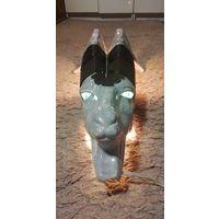 Аукцион с рубля. Светильник настенный керамический. КОЗЁЛ