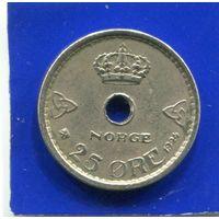 Норвегия 25 эре 1924