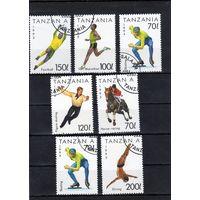 Танзания.Спорт.Сборный лот.1993-1994.