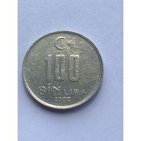 100000 лир 2002 г., Турция