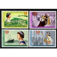 1977 Самоа 346-349 25-летие коронации Елизаветы II