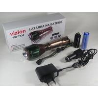 Тактический LED Фонарь VISION 500W Zoom