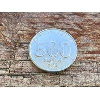 Индонезия. 500 рупий 2016.