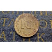 10 пфеннигов 1988 (F) Германия ФРГ #01