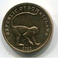 (A3) СОМАЛИЛЕНД - 10 ШИЛЛИНГОВ 2002 UNC