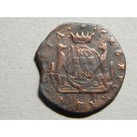 Россия Копейка монета сибирская 1769г