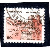 Пакистан. Mi:PK 625. Рани Кот. Серия: Крепости Пакистана. 1986.