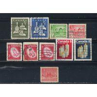 GB Канада 1964-72 Рождество #379,387-8,395,417-8,513-4