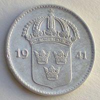 Швеция, 10 эре 1941 года (G), KM# 780, Gustaf V