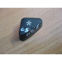 102085 Citroen C5 01-04 накладка кнопки