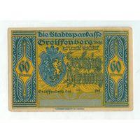 Германия, Нотгельд 60 пфеннигов 1921 год.