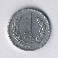 Польша, 1 злотый 1973 г.