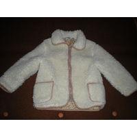 Курточка овчинка р.92-110